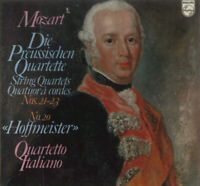Wolfgang Amadeus Mozart, Quartetto Italiano – Die Preussischen Quartette