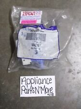 GENUINE SERVICE PARTS/WHIRLPOOL WASHER INLET VALVE 289067 FREE SHIPPING NEW PART