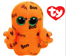 TY BEANIE BOOS GHOULIE FANTASMA ORANGE GHOST 28 CM T 37079 NEW HALLOWEEN 2016
