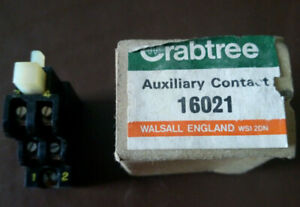 Crabtree 16021 Auxiliary Contact