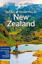 NEW Hiking & Tramping in New Zealand By Lonely Planet Travel Guide Paperback