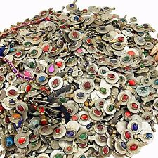 60 real Jeweled COINS Tribal BellyDance Kuchi Tribe - MIXED Colors