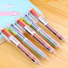 Hot Stationery Pen Multi Color 6 Color Study Ballpoint Pen