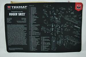 TekMat Accessories - Tek 17 - Ruger SR22 Gun Cleaning Mat (New)