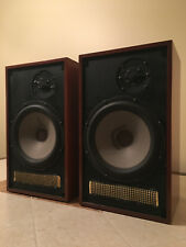 Dynaco A25 A-25 Speakers Walnut Finish Restored