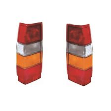 For Volvo 740 Estate 1982-1991 Rear Lights Lamps Amber Indicator Pair OS NS