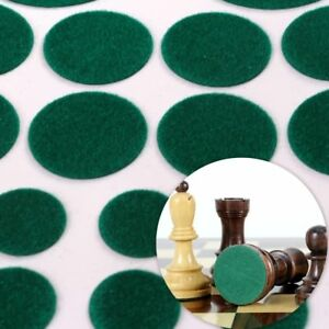 BAIZE GREEN FELT PADS 40Pc Glass Mirror Ceramic Ornament Chess Anti Scratch Feet