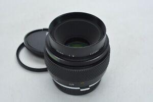 [TOP MINT] OLYMPUS OM-SYSTEM ZUIKO AUTO-Macro 50mm f2 Lens From JAPAN #3282