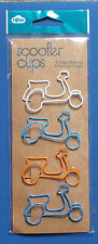 Job Lot Of New Page Bookmark Markers Clips 6 X 4PK Scooters And 3 X 4PK Lips