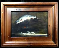 Winslow Homer Painting Art Print Framed Matted Trout Fly Fishing