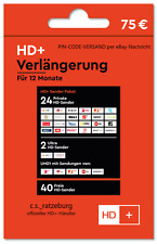 HD+ Plus Karte Verlängerung 12 Monate