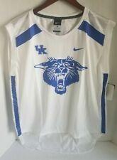 Nike Womens Kentucky Wildcats Performance White Royal Sleeveless Jersey