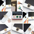 WOW Cute 3D Home Button Sticker For iPhone 4/ 4S iPhone 5 iPad 1/2 iPhone 6 NEW