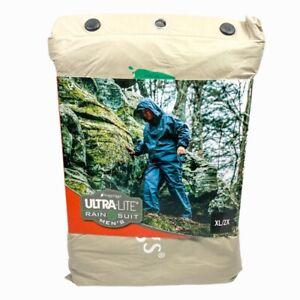 Frogg Toggs Ultra-Lite2 Waterproof Breathable Rain Suit Men's Khaki Size XL/2X