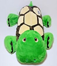 """Stuffies Shuffle The Turtle Plush Toy With Seven Secret Pockets 20"""" Long"""