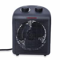 Homesmart 2 in 1 All Weather Black Heater/Fan with 2 Speed Heat Setting