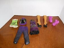 Monster High Clawdeen Wolf I Heart Love Fashion Outfit Clothes Top Pants Lot