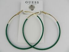 GUESS gold-Tone Thread-Wrapped Hoop Earrings