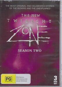 The New TWILIGHT ZONE Season 2 Two (3 x DVD Set) Free Post Tracked