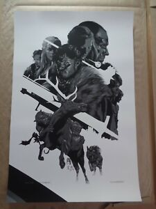 Mondo GAME OF THRONES by Martin Ansin Poster Print Art SDCC 2012 Limited to 430