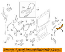NISSAN OEM 12-16 NV3500 Back Door-Handle Outside Exterior Right 826401PA0A