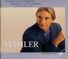 MAHLER  symphony no. 4 - TILSON THOMAS / SACD HYBRID
