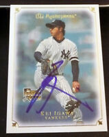 Kei Igawa SIGNED 2007 Upper Deck Masterpieces RC #28 New York Yankees AUTOGRAPH