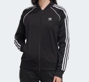Adidas Boys Youth Athletic Superstart Track Jacket XL Black OJS18250806