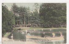 France, Paris, Bois de Boulogne, Le Lac, Les Cygnes et les Canards Postcard B429