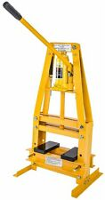 JEGS 81635 Hydraulic A-Frame Shop Press 6-Ton Bench Top Mount Working Range: Up