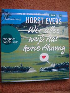 WER ALLES WEIß, HAT KEINE AHNUNG von Horst Evers (NEU&OVP, 2021, mp3, 5:31 Std.)