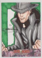 DEADWORLD TRADING CARDS NEW YORK COMIC CON 2012 SKETCH CARD MARK MARVIDA