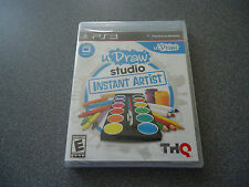uDraw Studio Game/Software Only  (Sony Playstation 3, 2011)