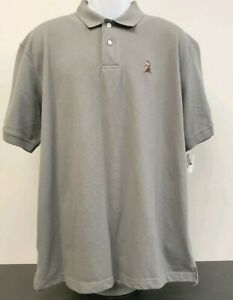 Grumpy Polo Shirt Disney Parks Embroidered Dwarf Gray Cotton Blend Mens XL New