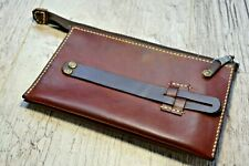 Italian genuine leather handmade Longer , purse, clutch