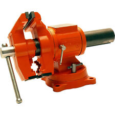 Pony 5-In. Multi-Purpose Heavy Duty Rotating Pipe-Swivel Base Bench Vise-Wilton