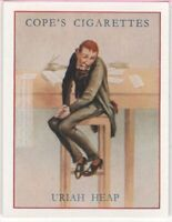 Uriah Heap Charles Dickens Character David Copperfield  c80  Y/O Ad Trade Card