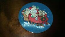 1996 Santa In Dreamsicle Land Plate
