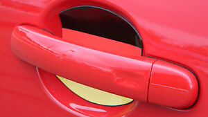 GERMAN FLAG AUTO ACCESSORY CAR DOOR HANDLE PAINT SCRATCH COVER GUARD FIT ALL 2PK