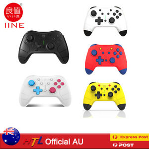 Wireless Bluetooth Controller For Nintendo Switch Gamepad One Key Wakeup