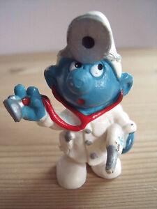 1978 Arzt-Schlumpf Doktor alte Schlümpfe Smurf Schleich Peyo 3 - 20037