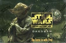 Star Wars CCG SWCCG Dagobah Limited Factory Sealed Box