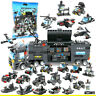 8IN1 City Police SWAT Truck Building Blocks Set Ship Vehicle Technic Brick Toys