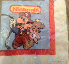 MARIO BROS Napkins Lunch Birthday Decoration Party Supplies Luigi Nintendo game