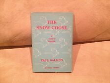 The Snow Goose by Paul Gallico,  Signed, Michael Joseph,1955,Hardcover w Jacket