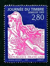 STAMP / TIMBRE FRANCE NEUF N° 2991 ** JOURNEE DU TIMBRE SEMEUSE / DE CARNET