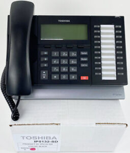 Toshiba IP5132-SD Gigabit IP Phone - Refurbished - Bulk
