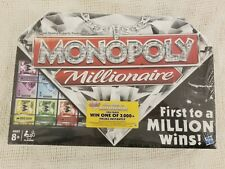 Monopoly Millionaire The Fast Dealing Property Trading Board Game NEW Sealed!