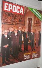 EPOCA 14 giugno 1975 Dossier Camera dei Deputati San Babila Ligabue Aulenti di e