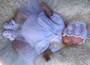 PRINTED PAPER KNITTING PATTERN TO MAKE TILLY TUTU.. FOR BABY/ DOLLS